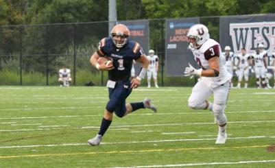 West. Conn. State scored a dramatic win on Saturday to defeat Hartwick, 35-31. (Photo Credit: Western Connecticut State University Athletics)
