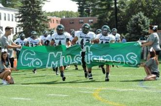 Mount Ida College scored a historic win last Saturday, defeating Norwich University for the first time since 2001. (Photo Credit: Mount Ida College Athletics)