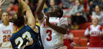 Ama Biney was tabbed this week's WACBA Women's Player of the Week. (PHOTO CREDIT: Frank Poulin)