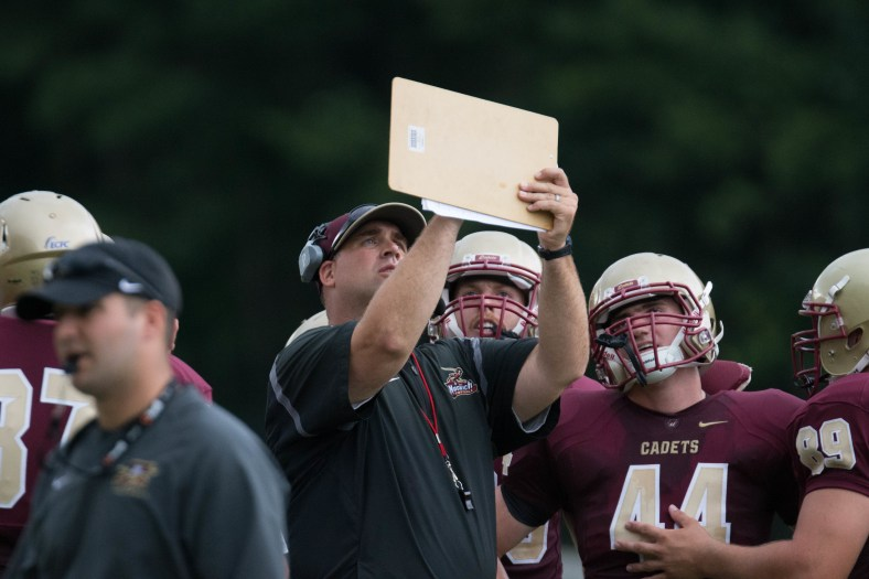 Norwich University's football team is in 'playoff mode' heading into the final two weeks of the regular season. (PHOTO CREDIT: Mark Collier)