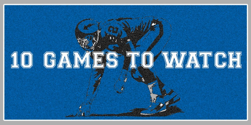 10 Games To Watch