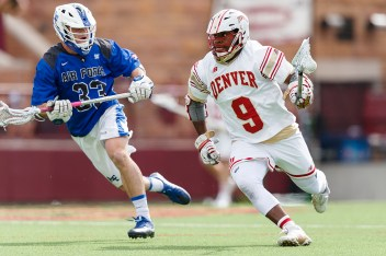 DU-Air Force NCAA D1 Men's Lacrosse