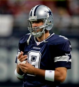 Romo knows he has a lot of pressure to succeed in 2009!