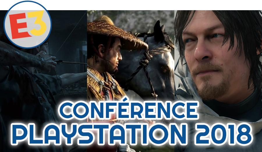 Dossier E3 2018 : Conférence Playstation
