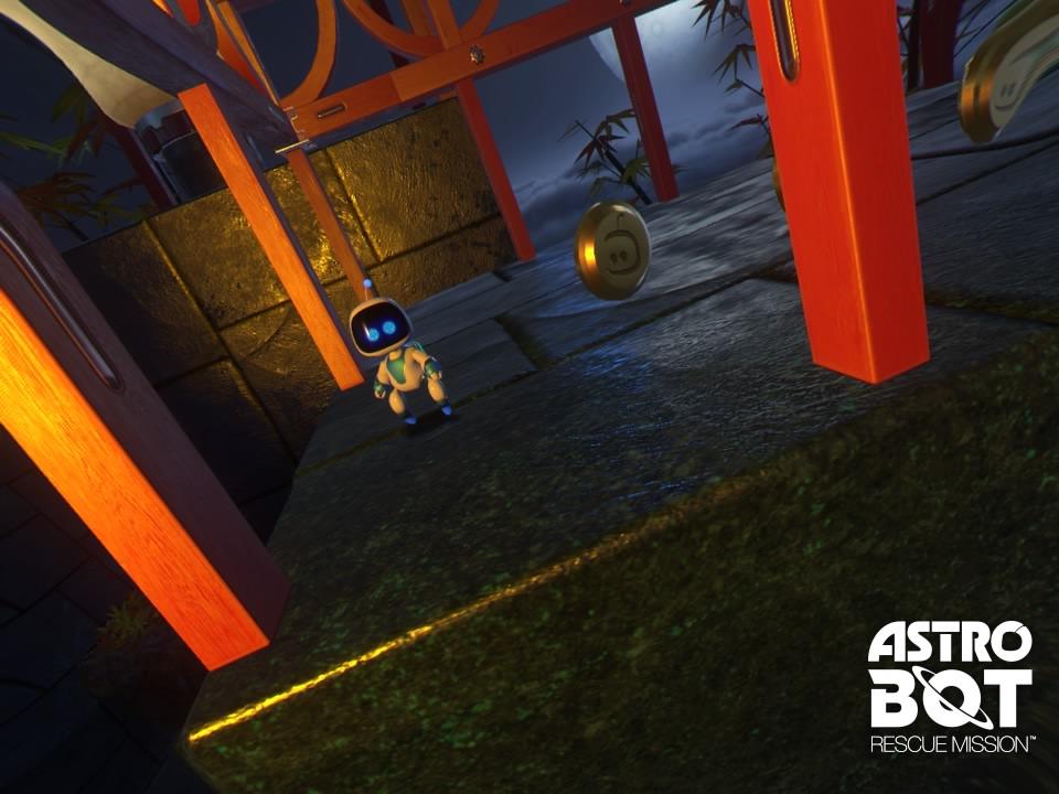 Astro Bot Rescue Mission technique
