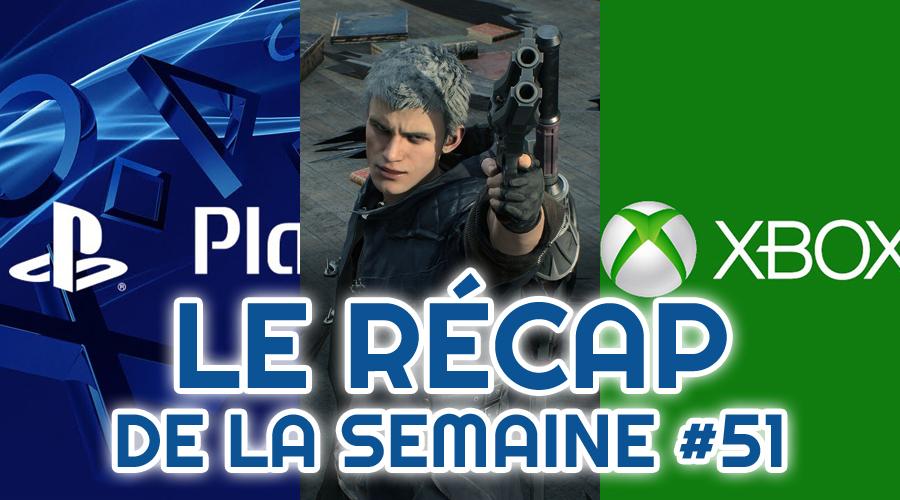 Le récap de la semaine #51 : Playstation 5, Devil May Cry 5, Xbox Scarlett