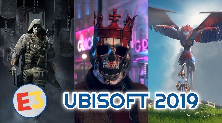 Dossier E3 2019 : Ubisoft