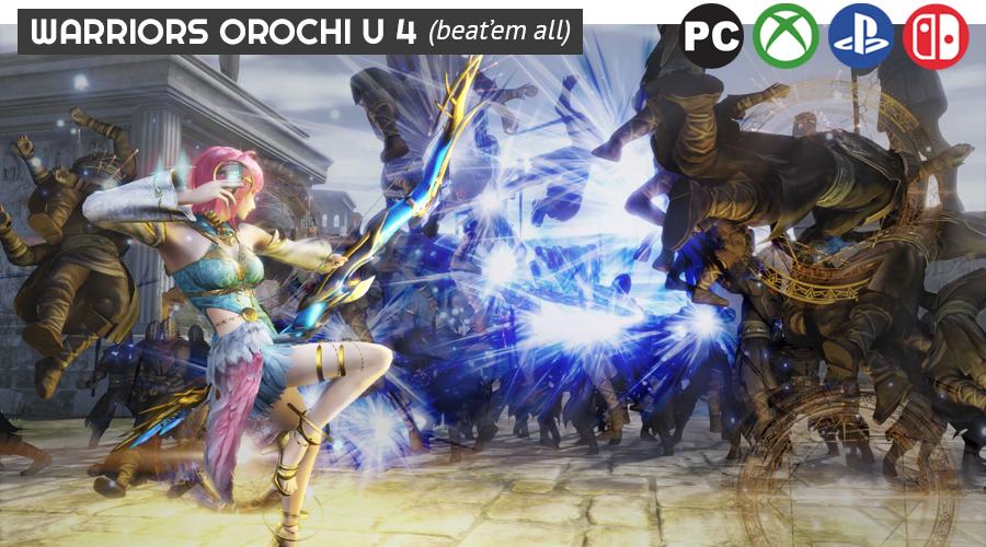 Warriors Orochi Ultimate 4
