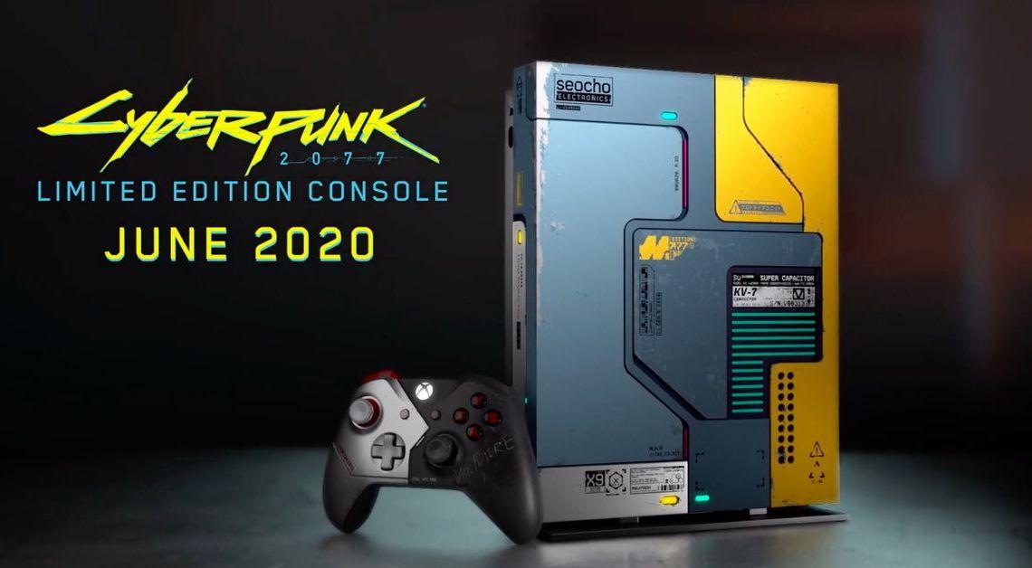 Xbox et CD Projekt présentent une Xbox One X Cyberpunk 2077