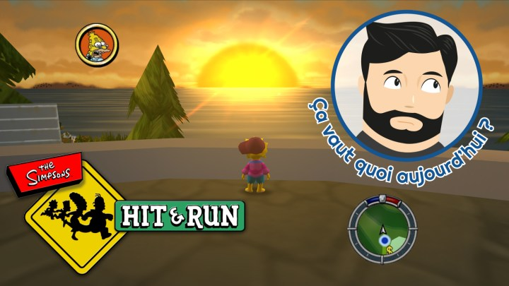 C.V.Q.A. : Les Simpsons Hit & Run