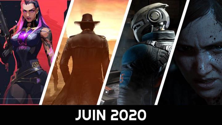 Le calendrier des sorties : Juin 2020