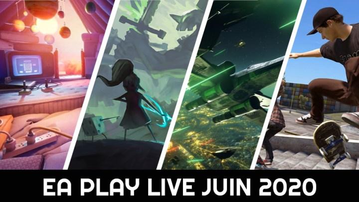 EA Play Live juin 2020 : les informations essentielles
