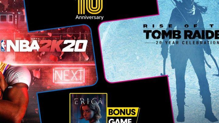 Playstation Plus juillet 2020