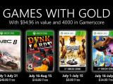 Xbox Games With Gold juillet 2020
