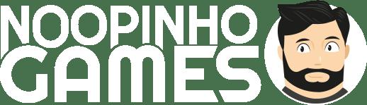 Logo blanc Noopinho Games