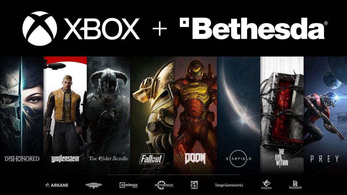 Xbox rachète Bethesda