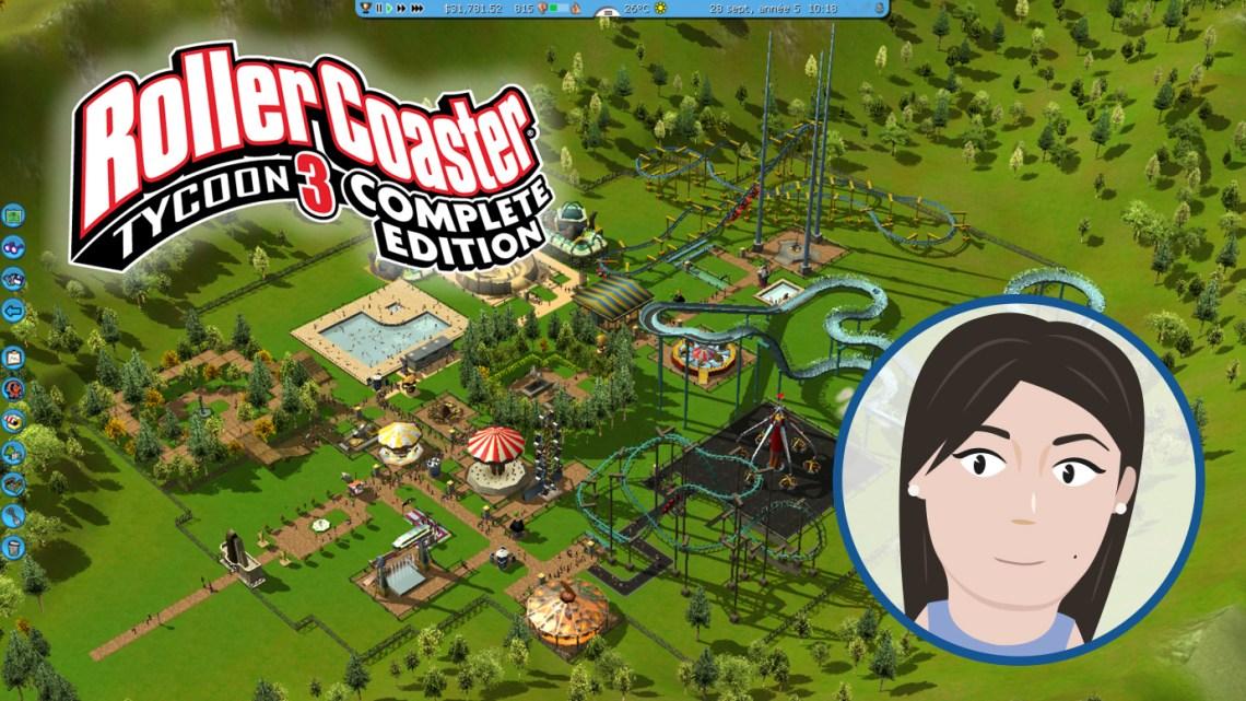 L'avis de Cathie : RollerCoaster Tycoon 3 Complete Edition, créez le parc de vos rêves