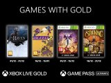 Xbox Games With Gold décembre 2020