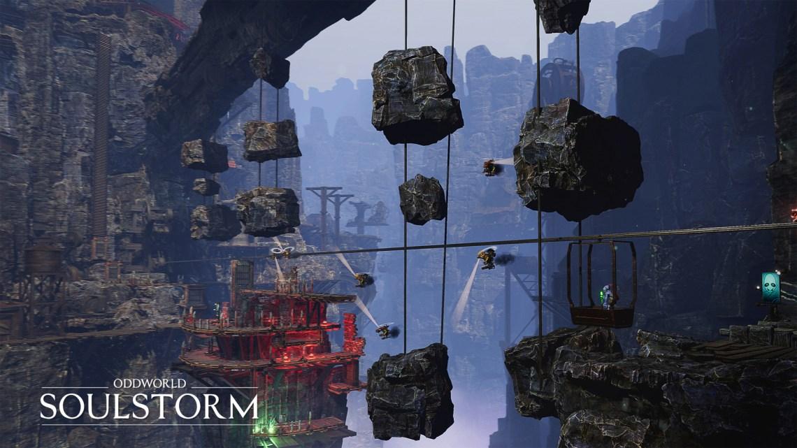 Oddworld : Soulstorm dévoile un nouveau trailer