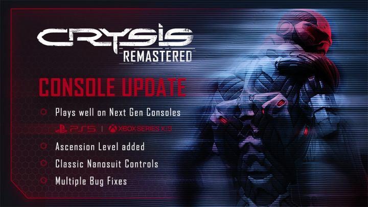 Crysis Remastered se met à jour sur PS5 et Xbox Series