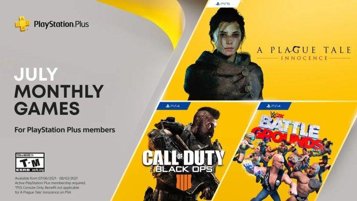 Playstation Plus juillet 2021
