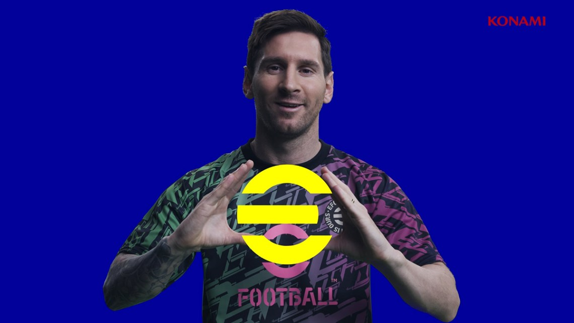 PES devient eFootball