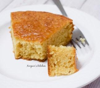 eggless vanilla cake 4