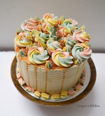 Butterscotch Cake - with caramel SMBC