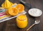orange curd eggless 2