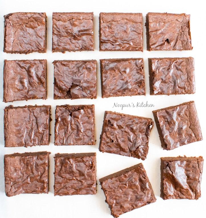eggless double chocolate brownies eggless 1