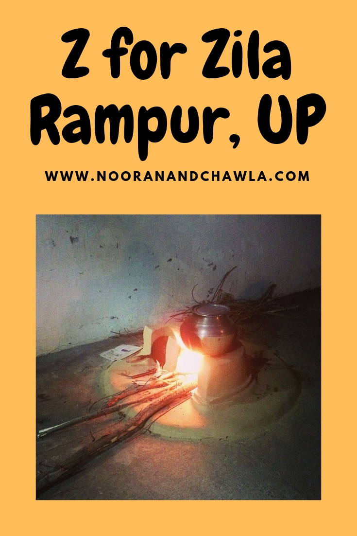 Z for Zila Rampur, UP