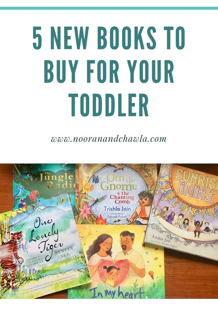 5 new books to buy for your toddler