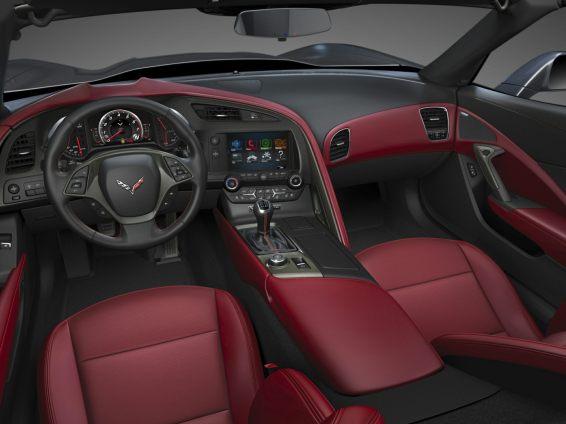 2018 Chevrolet Corvette Stingray interior
