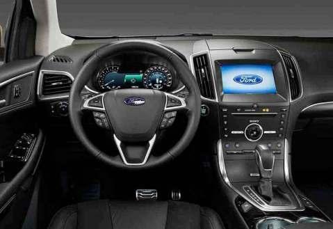 2018 Ford Edge technology