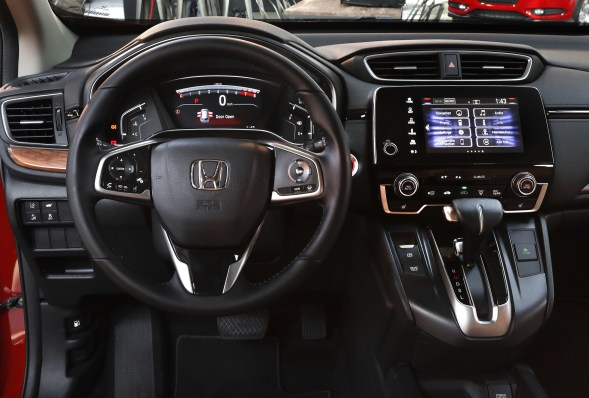 2018 Honda CRV technology
