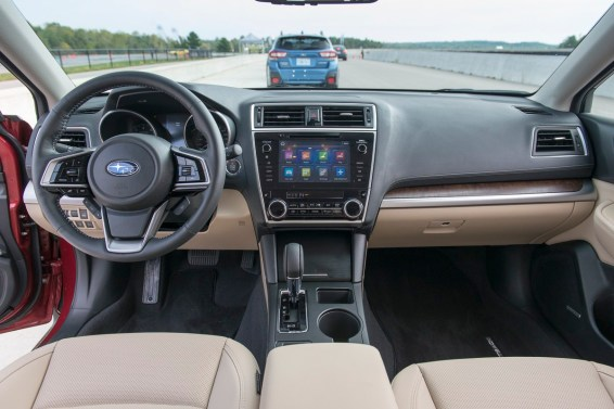 2018 Subaru Outback technology