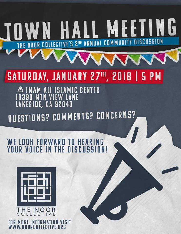 2nd Annual Town Hall Meeting & Community Discussion