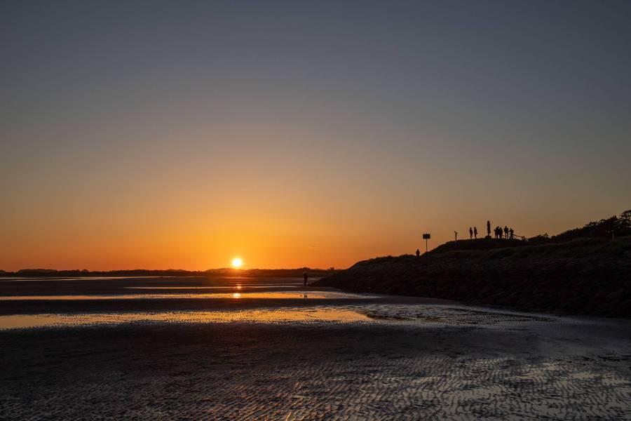 Zonsondergang bij west – Terschelling