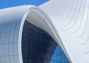 Architecture Photography Beautiful Architecture Graphy Of the Fluid Heydar Aliyev Center
