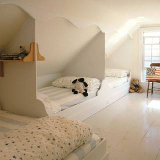 Attic Room Awesome Built In attic Beds