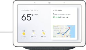 Best Home Automation New Google Home Hub with Google assistant Black Ga Us