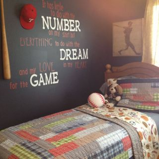 Boys Bedroom Ideas Inspirational Baseball Room