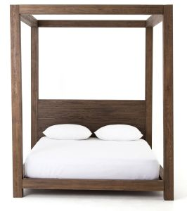 Canopy Bed Inspirational A Simple Four Poster Canopy Bedframe In solid Oak Makes An