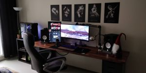 Coolest Desk Luxury 50 Best Setup Of Video Game Room Ideas [a Gamer S Guide