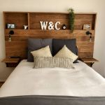 Bed Headboard Ideas Home Diy