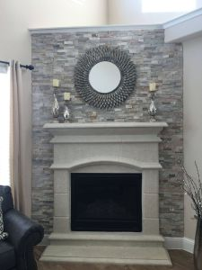 Fireplace Stone Ideas Awesome Most Current Ledger Stone Fireplace Suggestions