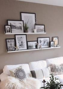 Floating Shelves Elegant Absolutely Love these White Floating Shelves for Pictures