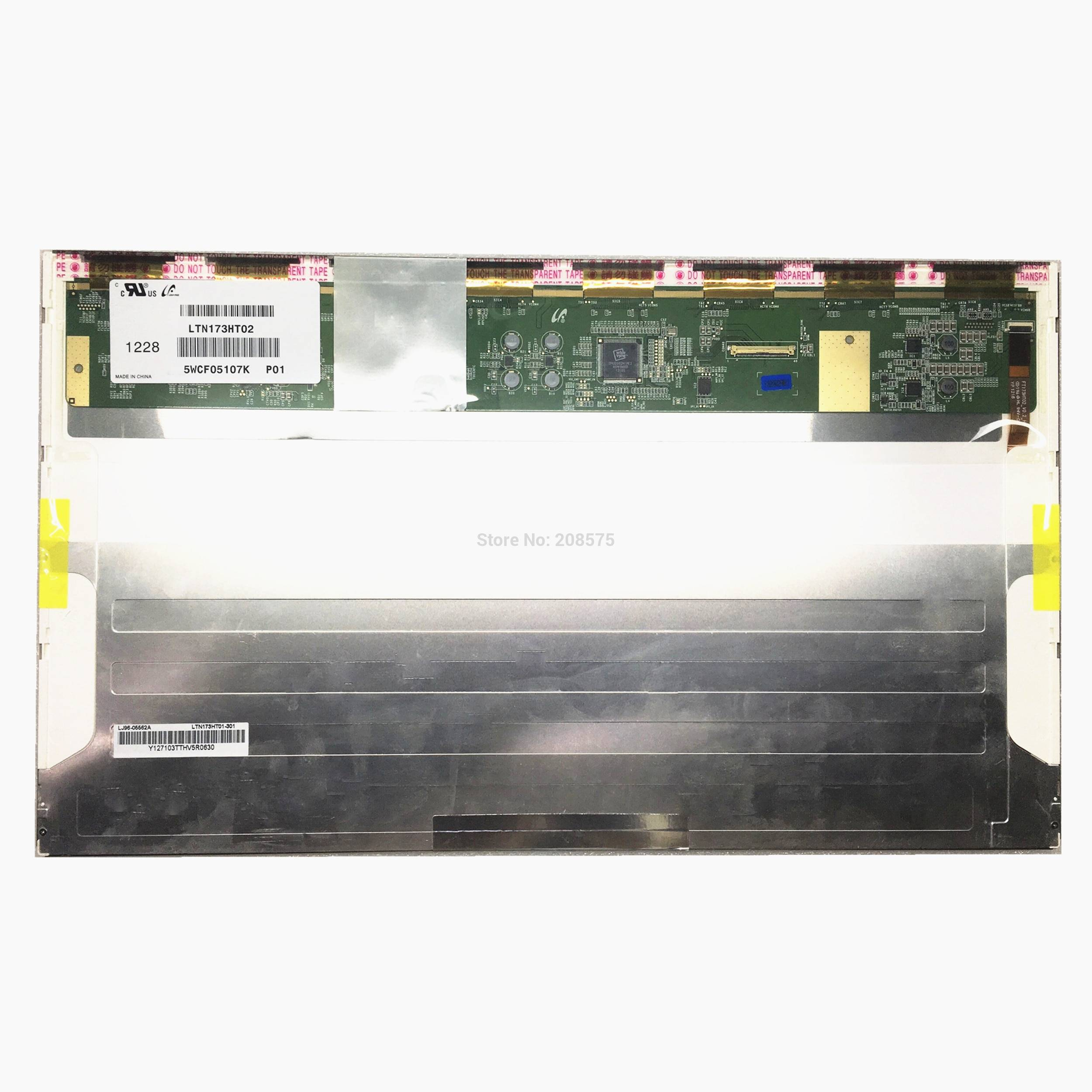 Free Shipping LTN173HT02 P01 for Dell Inspiron 17R 7720 Samsung NP700G7C NP700G7A Toshiba X870 X875 X775