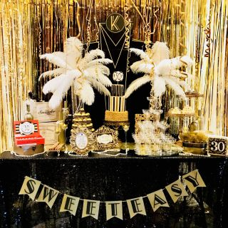 Great Gatsby Decoration Ideas Fresh Great Gatsby Party Sweet Bar