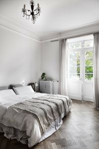 Grey Walls Elegant A Beautiful and Simple Grey Bedroom with Grey Bedding Light
